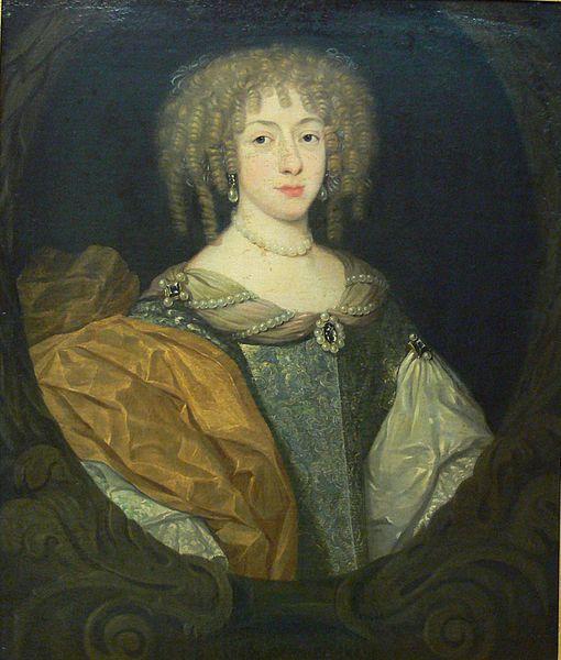 Liselotte von der Pfalz, oil on canvas Gallery: Reiss-Engelhorn-Museen, Mannheim  Datec. 1670/1671