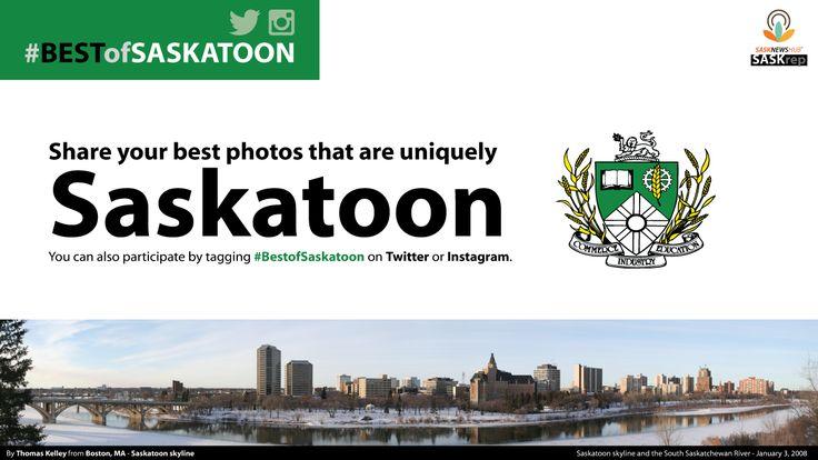 SASK NEWS HEADLINES :: SASKrep: Share your best photos that are uniquely Saskatoon - https://www.showcasesaskatchewan.com/sask-news/2015/06/saskrep-share-your-best-photos-that-are-uniquely-saskatoon/
