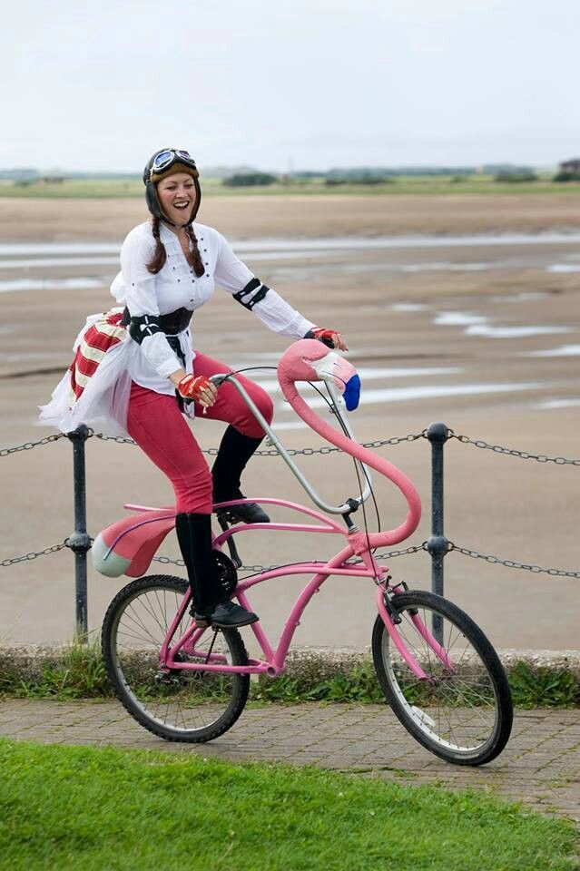 Flamingo-o-o-o-O-O-!!!...BIKE?! Must Have!!