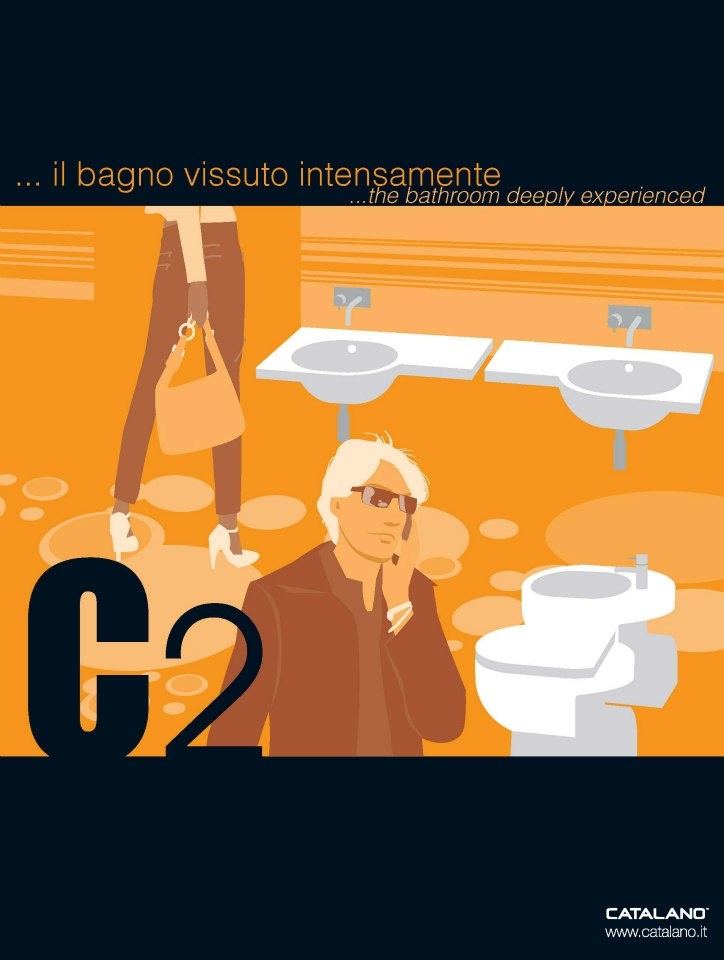 Advertising Catalano 2004, Illustrazioni di Antonio Cau