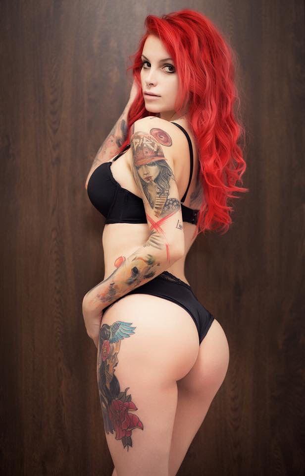 Xxx pics hottest tattooed redheads