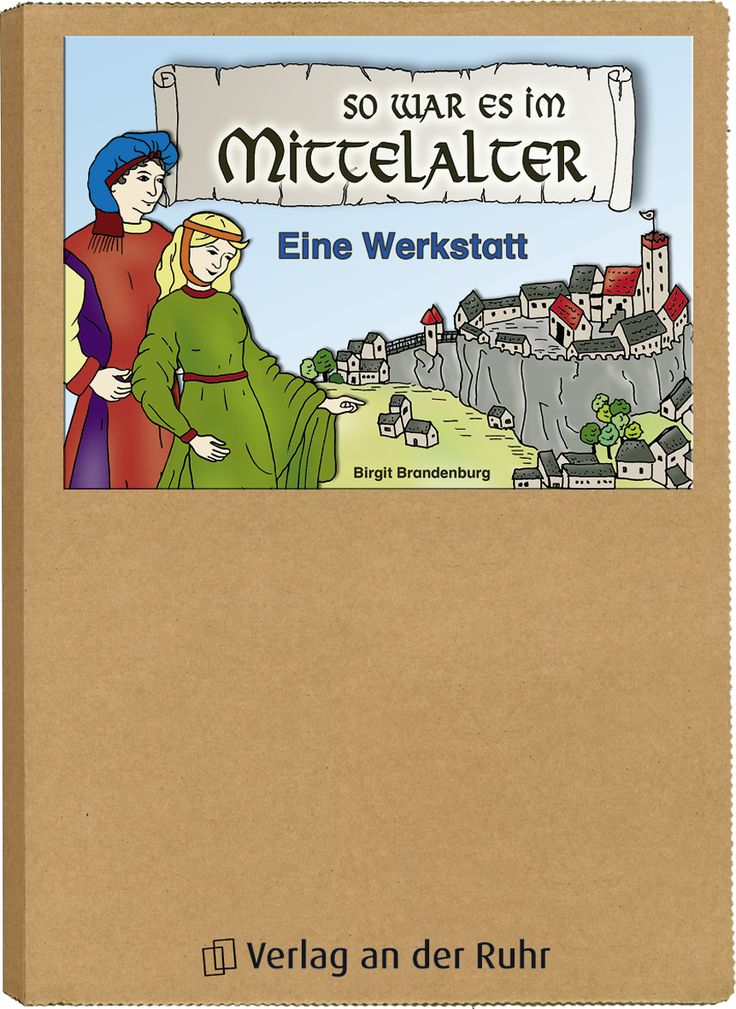So war es im Mittelalter ++ Material für die #Grundschule, Klasse 3/4, Fach: Sachunterricht ++ Das #Mittelalter hat sich nicht nur auf Burgen bei Ritterturnieren abgespielt. Das lernen die Kinder von den Sympathiefiguren, die durch die Kapitel der Werkstatt führen: Sie machen das Leben im Mittelalter greifbarer, indem sie vor allem vom Alltag im Dorf, in der Stadt und auf der Burg berichten.