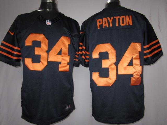 34 knox blue orange number chicago bears nike limited jersey id9681831 23. walter paytonwalter