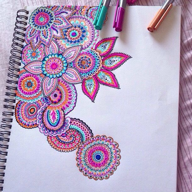Mandala art https://www.facebook.com/pages/Healthy-Vibrant-You/381747648567846