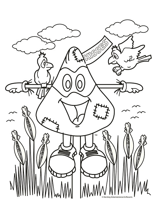 halloween printable coloring sheet - Amish Children Coloring Book Pages