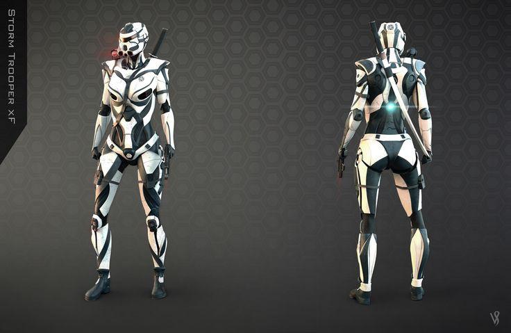Storm Trooper Redesign.For Facebook Group Brainstorm Challenge..