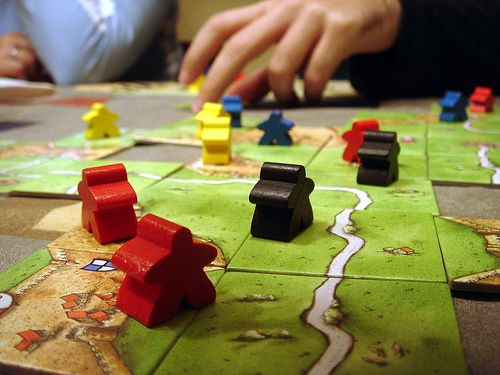Carcassonne    One of my new favorite games
