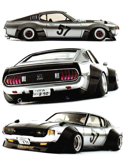 (via AUTOnGRAPHIC: Kaido Racer Modeling Vol. 7)
