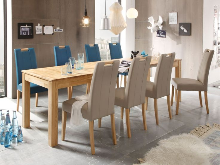 138 best Esszimmer images on Pinterest Dining room, Oak tree and - wohnzimmer braun petrol