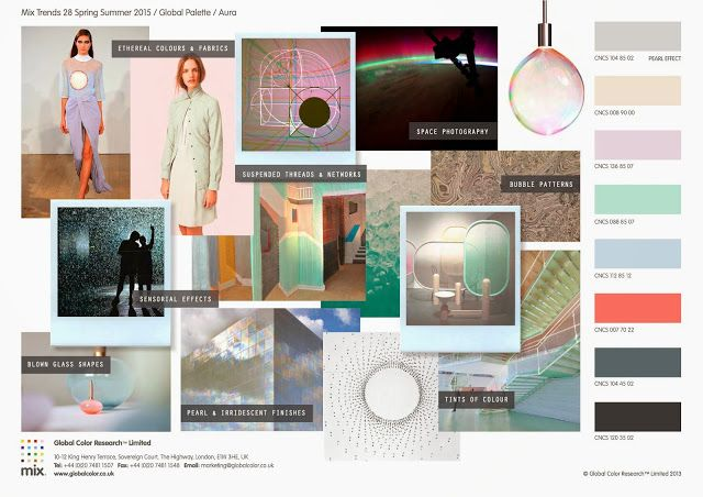 GLOBAL COLOR RESEARCH -Aura - SPRING/SUMMER 2015