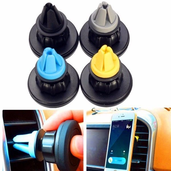 G, Car Air Vent Phone Holder For Mounting Kit 360°Rotation Magnetic
