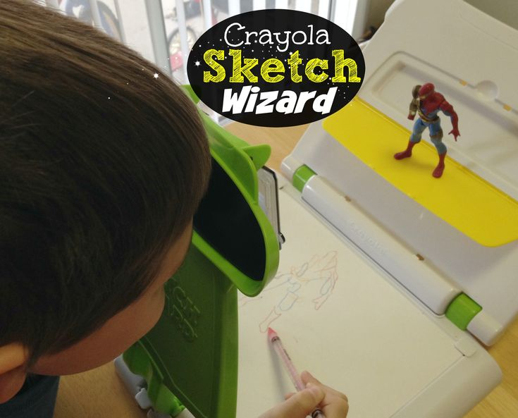 Crayola Sketch Wizard Toy Review - CLICK HERE to read about this cool #Crayola toy that we bought our son.