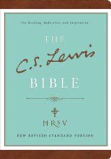 The C.S. Lewis Bible, NRSV, Bonded Leather, Brown