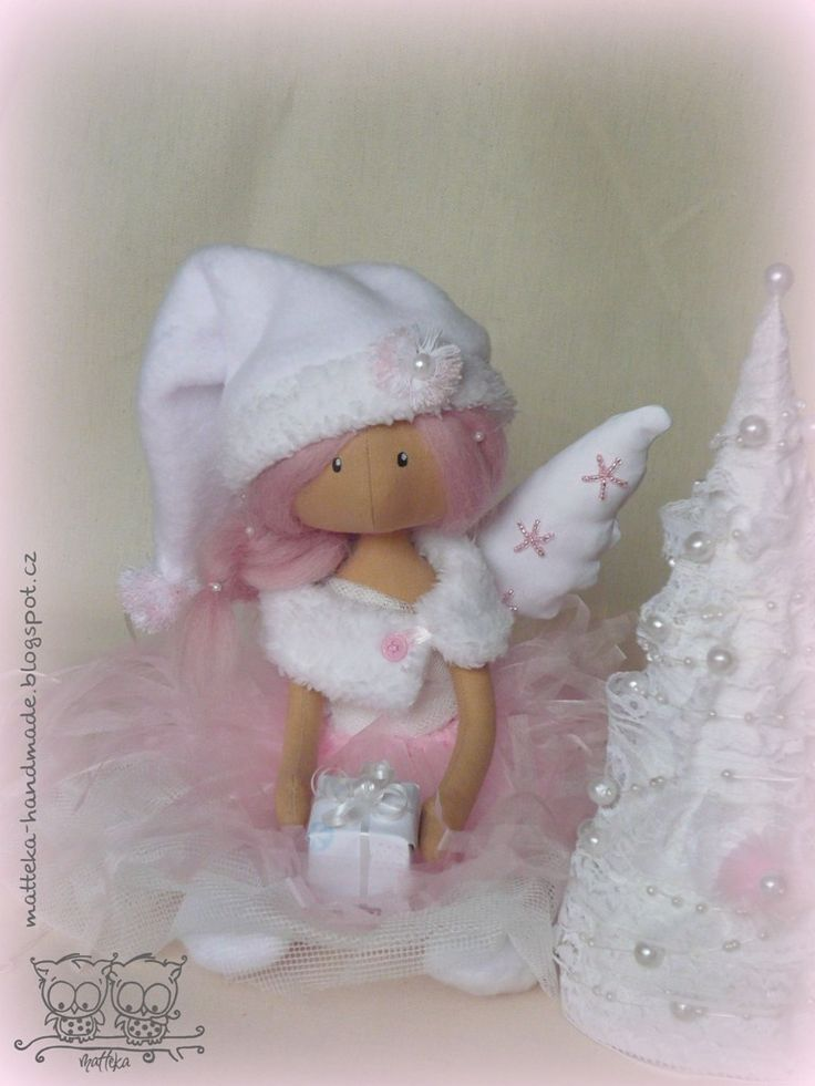 hand made by matteka: ♥Christmas angel♥