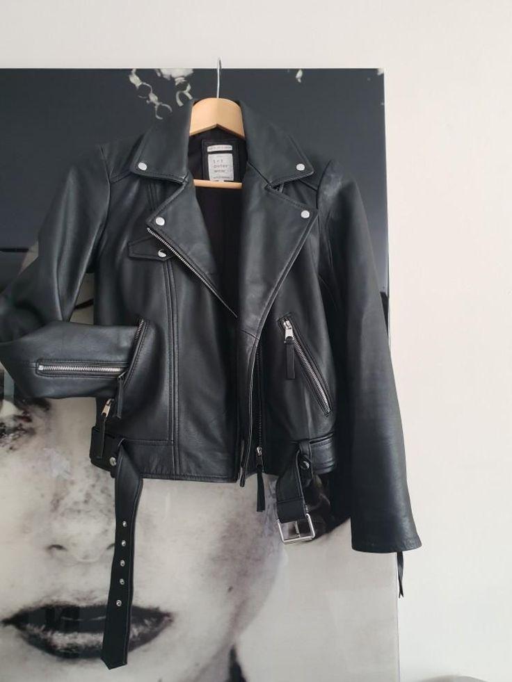 Leren jasje Zara - Merkkleding | Jasjes, Kostuums en ...