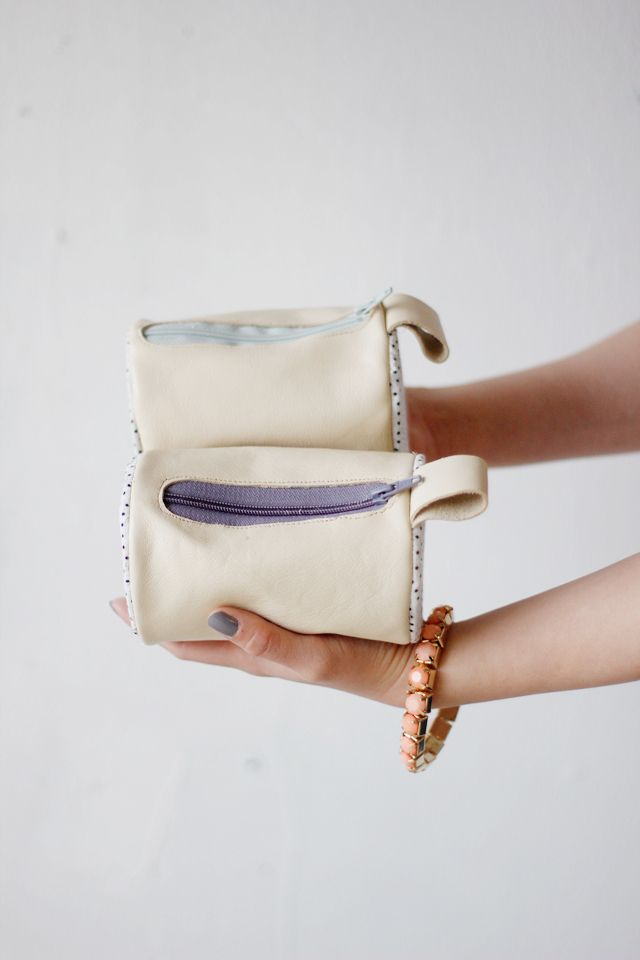 Round Pouch Tutorial // See Kate Sew