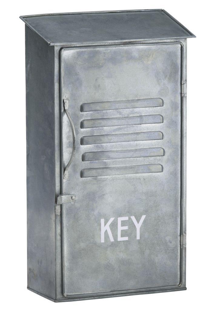Plechová skříňka na klíče