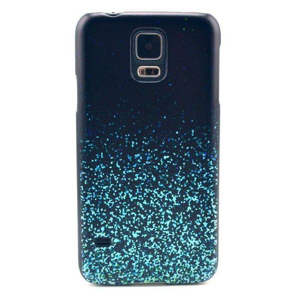 Blauwe spikkels hardcase hoesje voor Samsung Galaxy S5