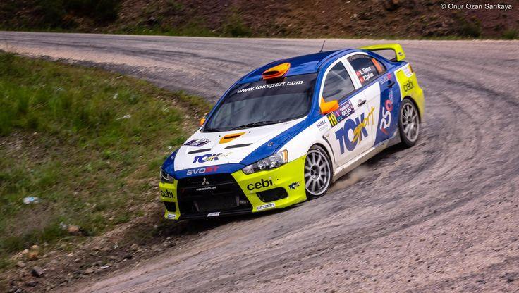 Mitsubishi Lancer EVO X Eskişehir Rally