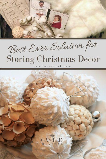 Best Storage Spot for Christmas Decor Christmas decor, Hiding