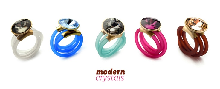 MODERN crystals / collection  http://aniakruk.pl/