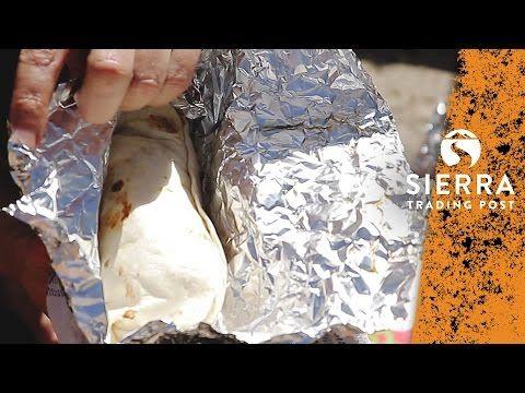 Quick Car Camping Breakfast - Dutch Oven Burritos - https://healthcookingreview.com/quick-car-camping-breakfast-dutch-oven-burritos/