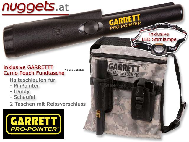 GARRETT ProPointer Pin Pointer Special Offer Set www.nuggets.at