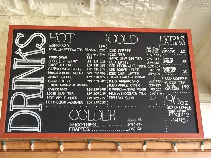 Best 25 Coffee Shop Menu Ideas On Pinterest Coffee Wall Art