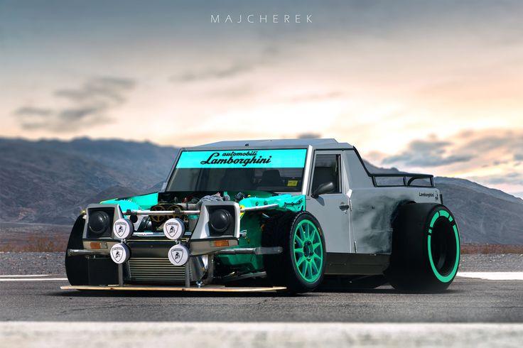 ArtStation - Lamborghini LM002 Drift Missle, Mikołaj Majcherek