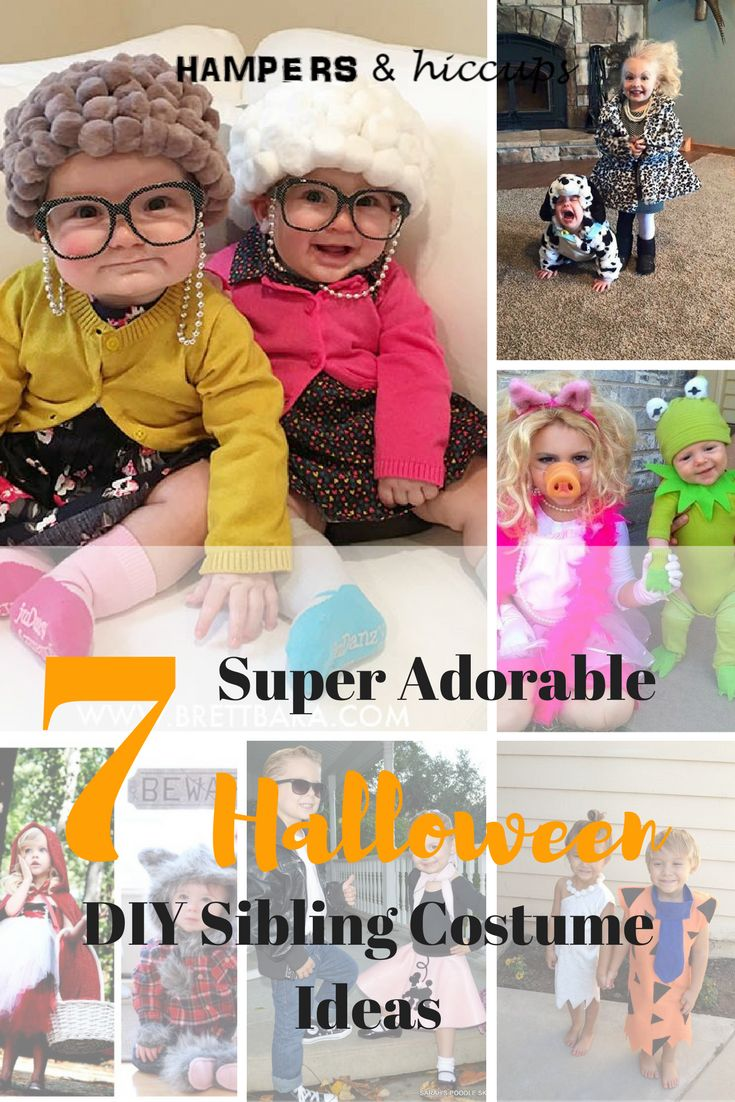 Starting to think about Halloween? Get some great ideas for costumes. Perfect for siblings. Most are easy enough to DIY. Keep your kids memories full of love with your handmade costumes. They'll enjoy thinking back at the good ones and the not-so-good one