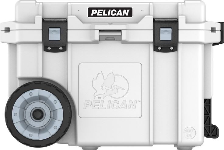 You don't want a Yeti, you want a Pelican. Make the Yeti owners at the campground drool with a made-in-America, feature-packed Pelican cooler.