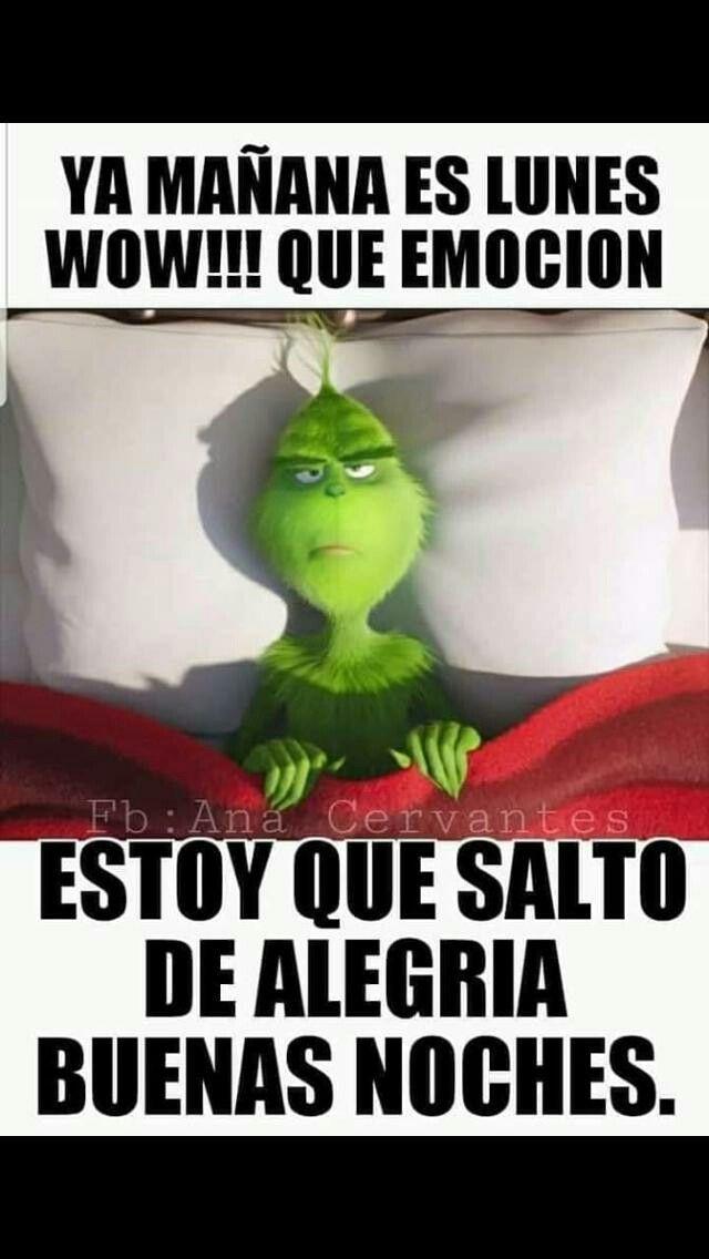 Imagenes De Grinch De Buenos Dias.Amo Al Grinch Comico Buenas Noches Frases Buenas