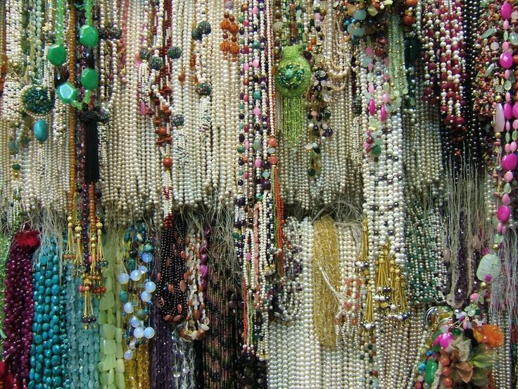 Colliers au Grand Bazar d'Istanbul