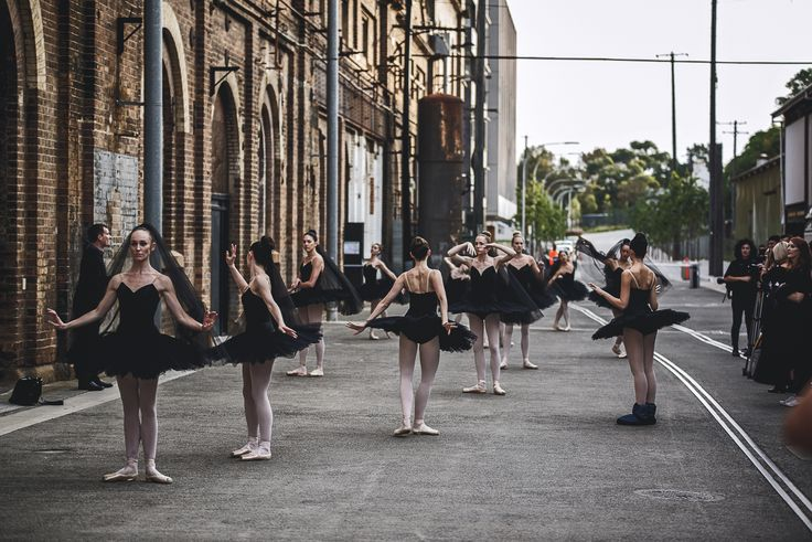 MBFWA Opening Ballet Dancers