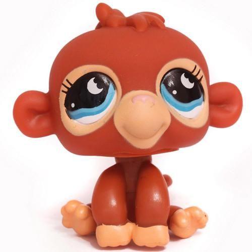 Littlest Pet Shop #853 Monkey Jungle Hangout 3 Pck. OUT OF PACKAGING/BAG