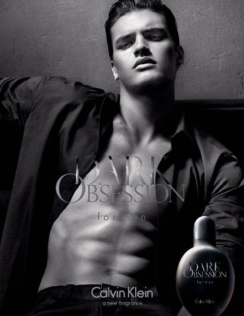 Matthew Terry Fronts Calvin Klein's Dark Obsession Fragrance Campaign