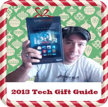 Deborah interviews Justin about the hot tech gifts for 2013