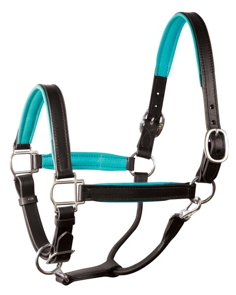 Perri's Leather - Leather Halters :: Horse Halters » Soft Padded Leather Halter