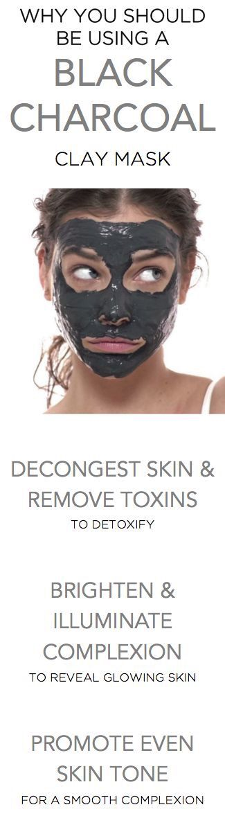 A charcoal mask is great for your skin! It will pull out toxins and help keep your skin clean and clear  My favorite is Cackle Spackle by Perfectly Posh.