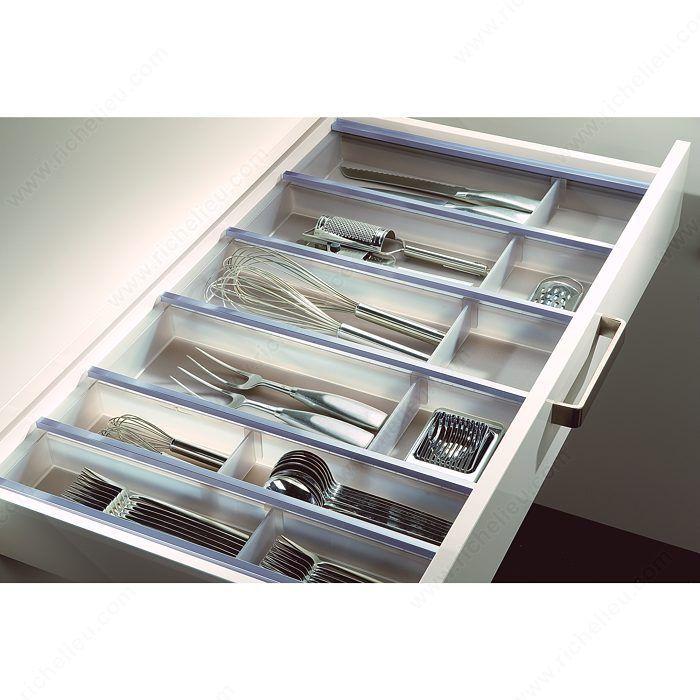 Best 25 cutlery drawer insert ideas on pinterest for Vertical silverware organizer