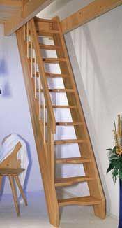 Foto ruimtebesparende trap Top-step