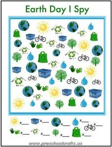 earth day worksheets for kids