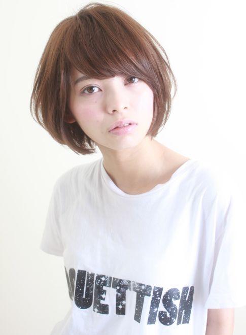 大人可愛いショートボブ 【HAIR DIMENSION 青山】 http://beautynavi.woman.excite.co.jp/salon/3042?pint ≪ #bobhair #bobstyle #bobhairstyle #hairstyle・ボブ・ヘアスタイル・髪型・髪形 ≫