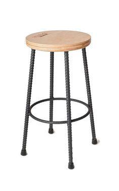 rebar bar stools - Google Search