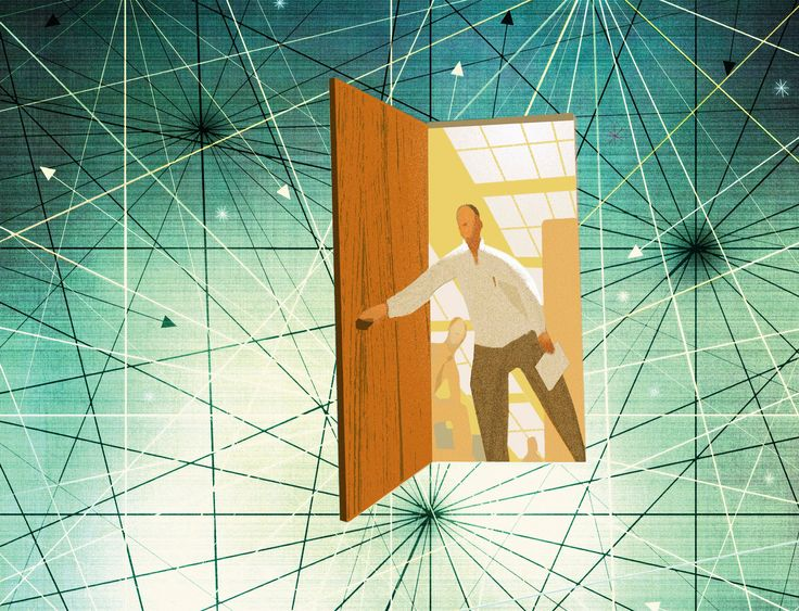 Do We Live in the Matrix? | DiscoverMagazine. *** installation with revolving doors **