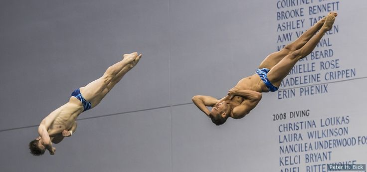 Competing Together For First Time, Divers Sam Dorman And Michael Hixon Qualify For Olympics
