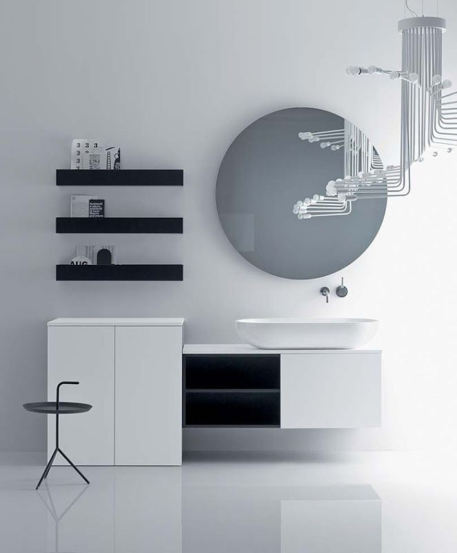 Via Veneto, Minimalist Bathroom Furniture by Gunni & Trentino for Falper | Polo's Furniture