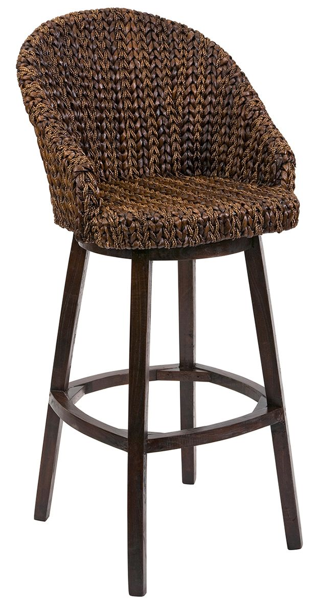 Coupled With A Woven Rattan Construction The Comfortable