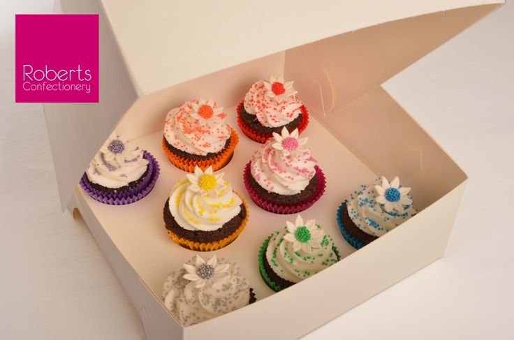 Keep your cupcakes secure & safe in a box!