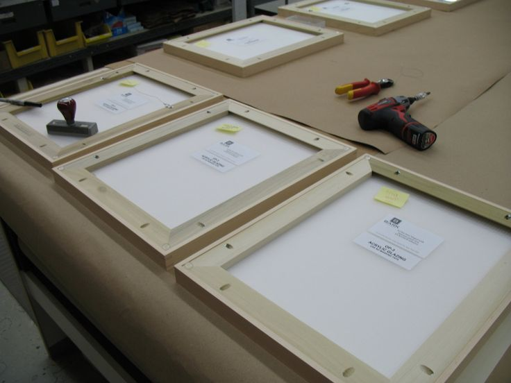Bark Frameworks | Preserving Art | The Back of the Frame
